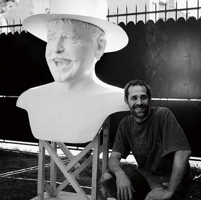 Création et fabrication  du Géant Lou Depryck