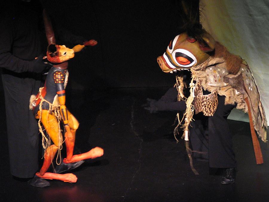 marionnette masque