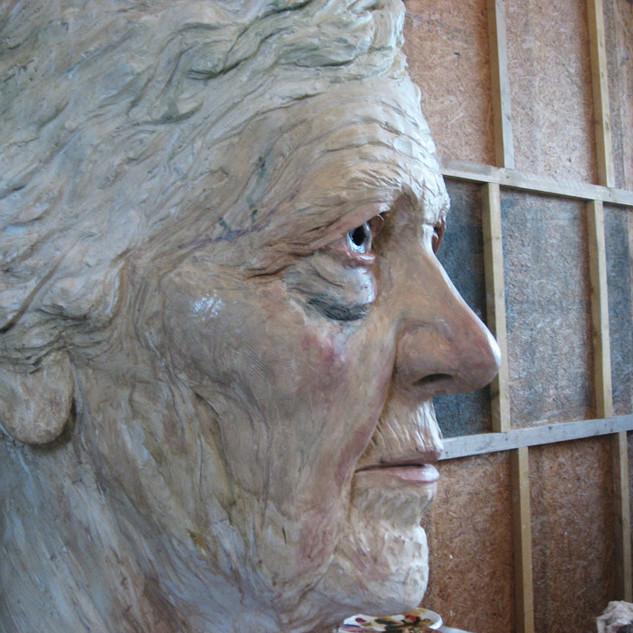 Peinture Géant Knokke Heist