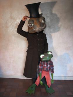 masque marionnette Poucette