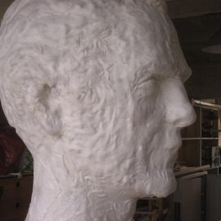Création et fabrication du Géant Benjamin Deneubourg de Bouvignies