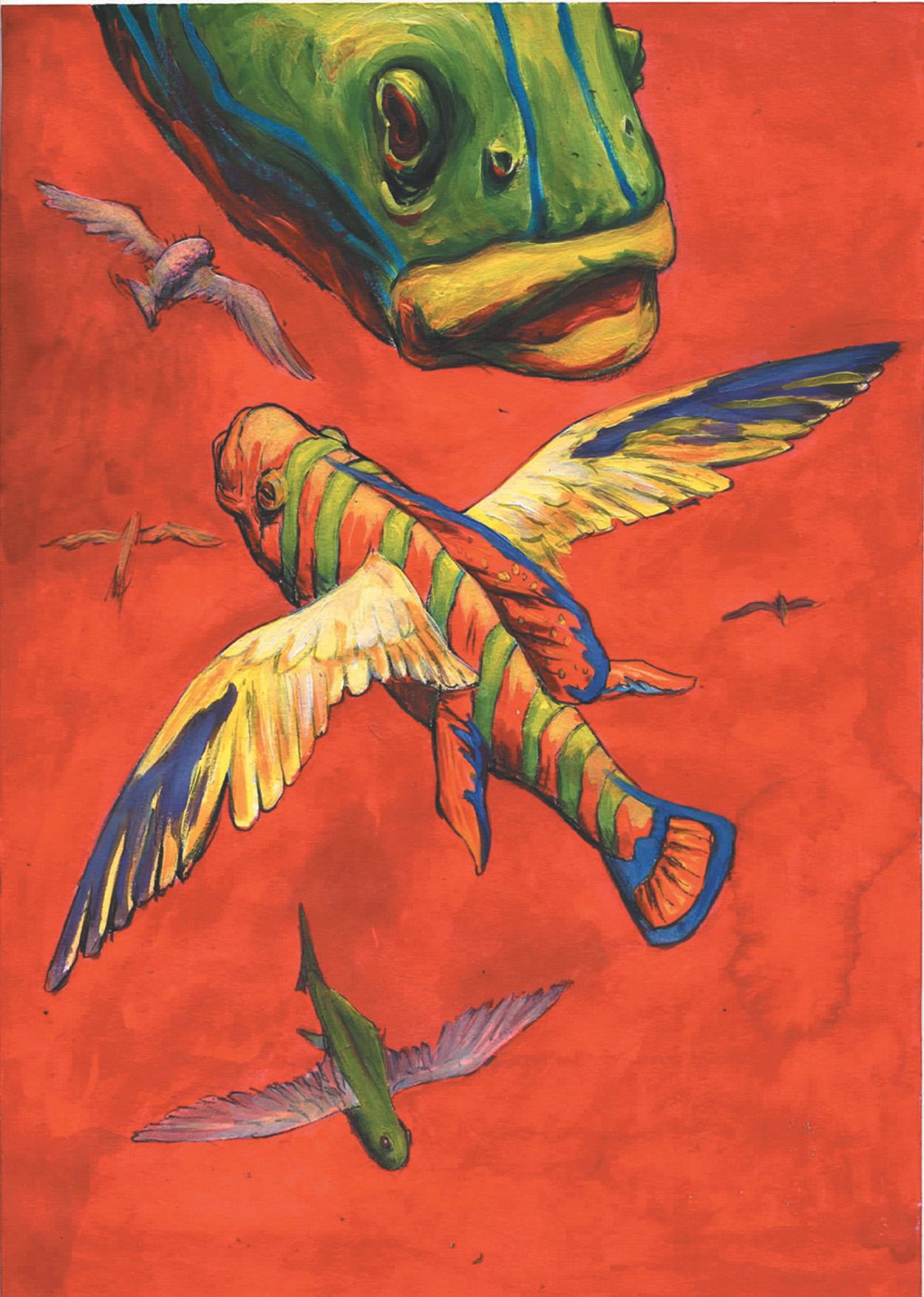 poissons volants