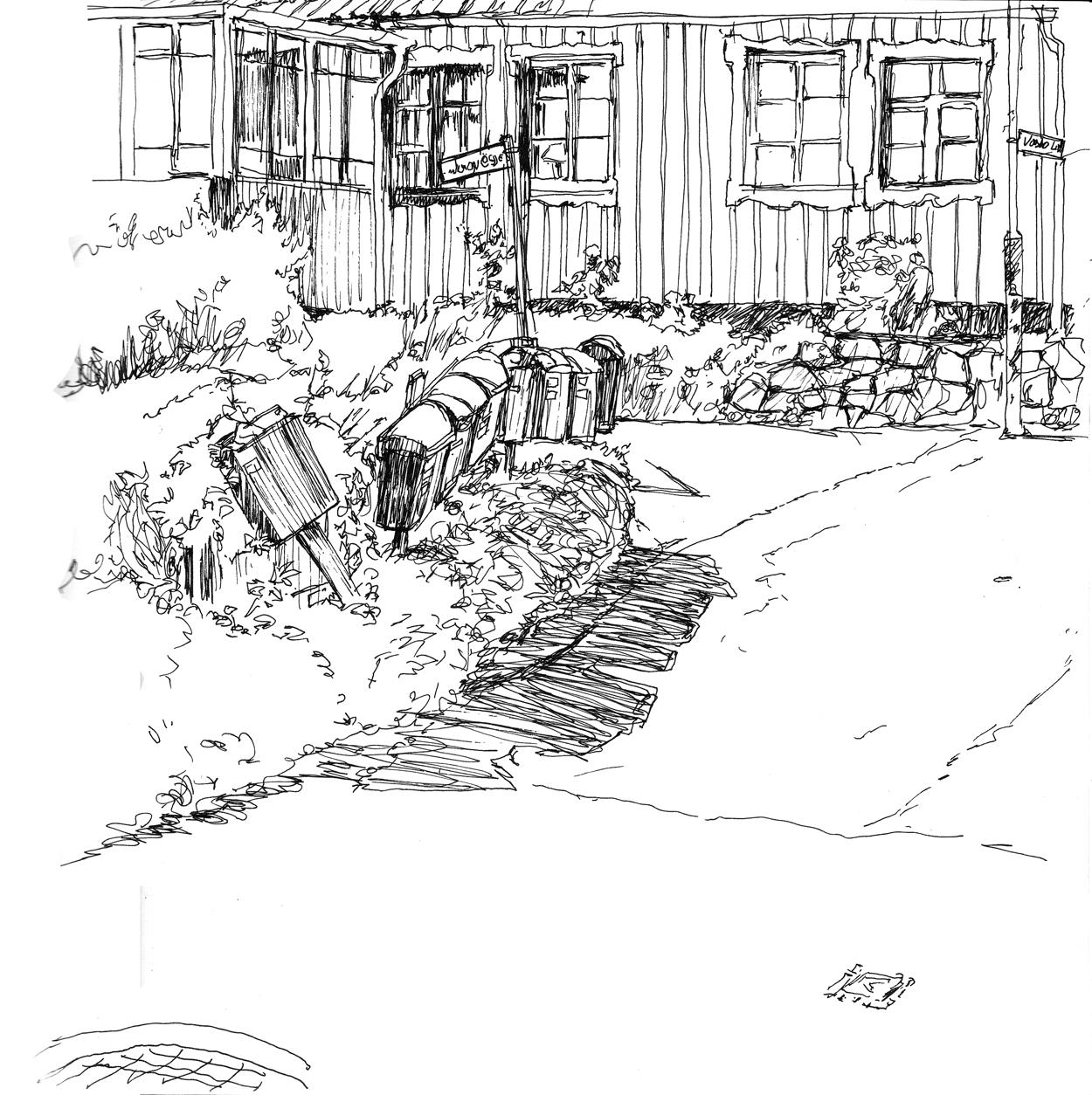 sketch Arild Sueden