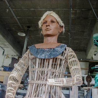 Modelage Géante Alix de Namur