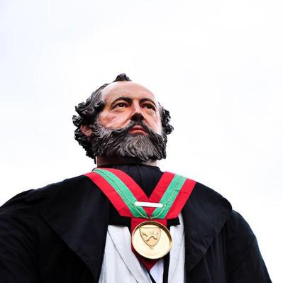 Création et fabrication  du géant Adolphe Sax à Dinant