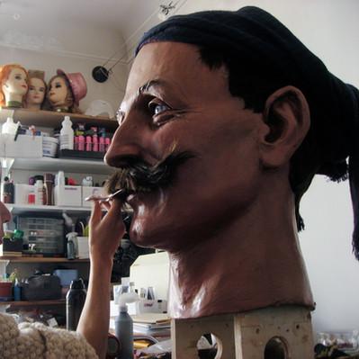 Création et fabrication  du Géant Eul Tacheu