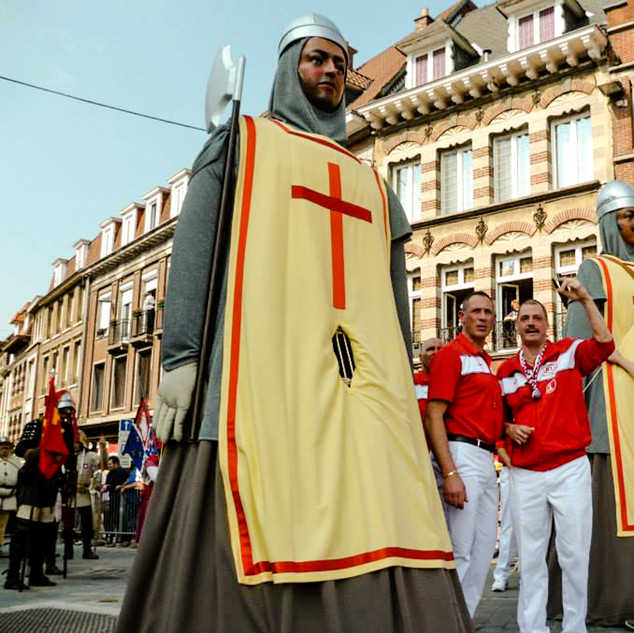 Géants croisés de Tournai