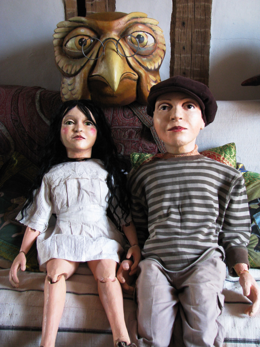 marionnettes Poucette