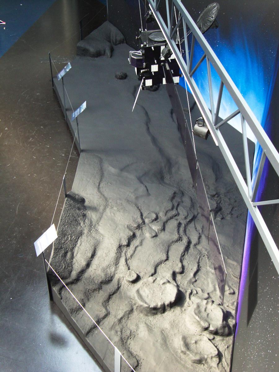 sol de la comète Tchouri