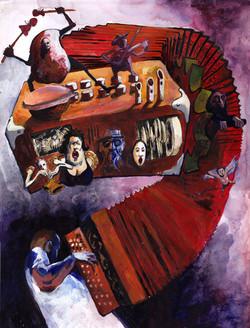 la fête de l'accordéon