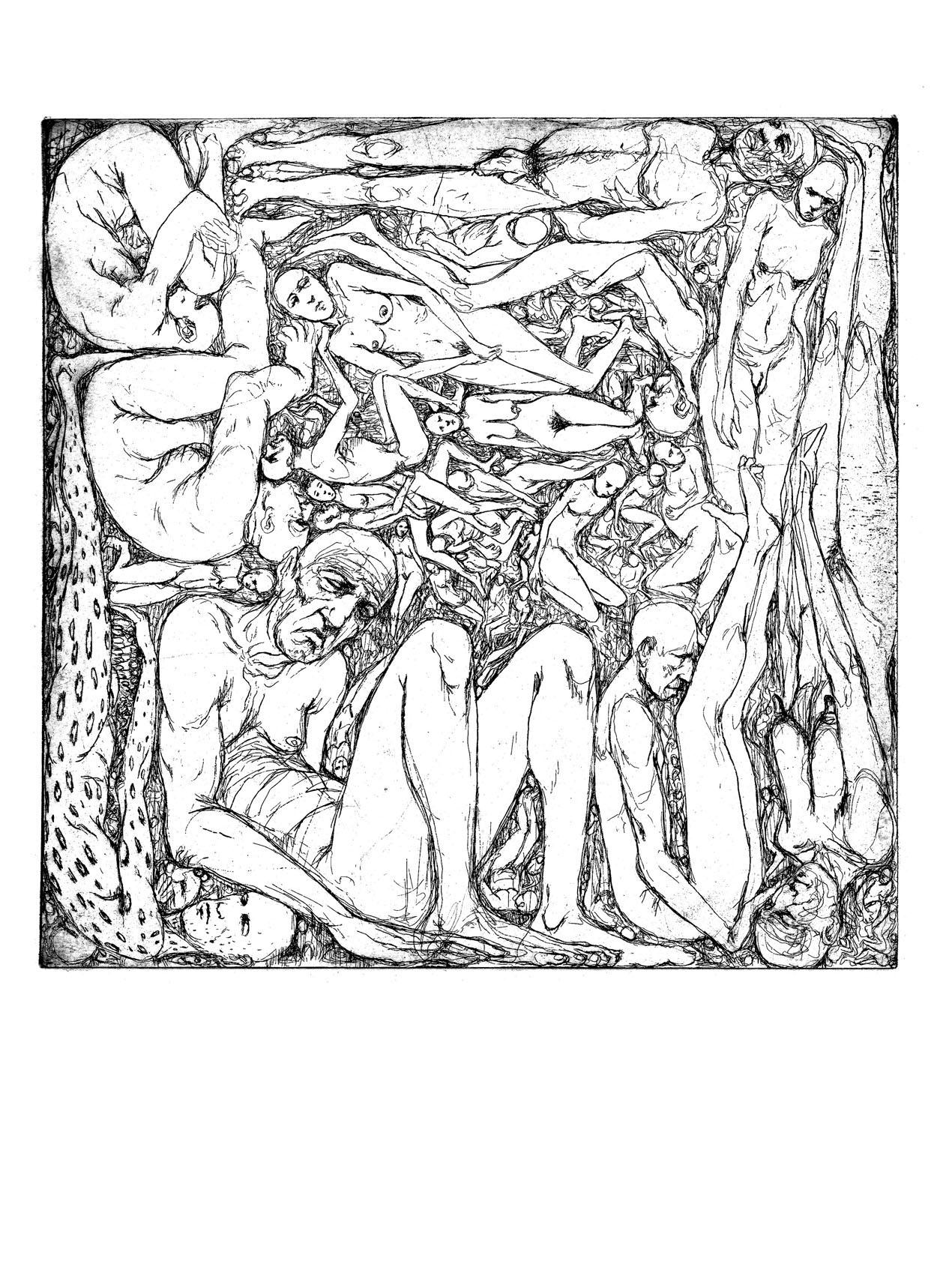 corps enchevêtrés