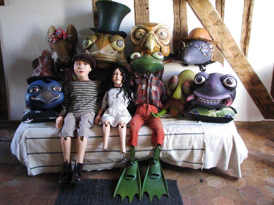 masques et marionnettes Poucette