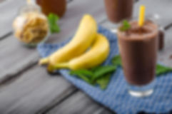 Dr Phil Sheldon's Choc Berry Banana Smoothie
