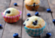 BodyDesignbyWendy Almond and Berry Muffins