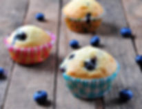 Dr Phil Sheldon's Blueberry Muffins