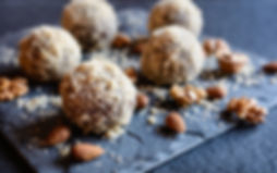 Dr Phil Sheldon's No Bake Almond & Cacao Balls
