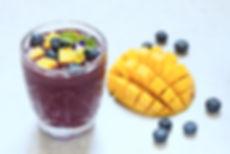 Dr Phil Sheldon's Mango Blueberry Smoothie