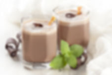 Dr Phil Sheldon's Choc Mint Smoothie