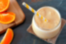 Dr Phil Sheldon's Orange Chocolate Smoothie