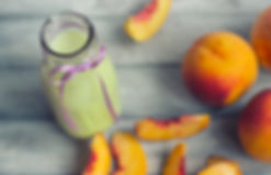 Dr Phil Sheldon's Summer Peach and Greens Smoothie