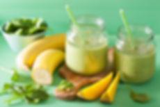 Dr Phil Sheldon's Mango Green Tea Smoothie