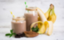 Dr Phil Sheldon's Hot Chocolate Oat and Banana Smoothie