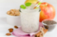 Dr Phil Sheldon's Overnight Apple Cinnamon Quinoa