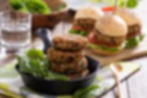 Dr Phil Sheldon's Chickpea & Lentil Burgers