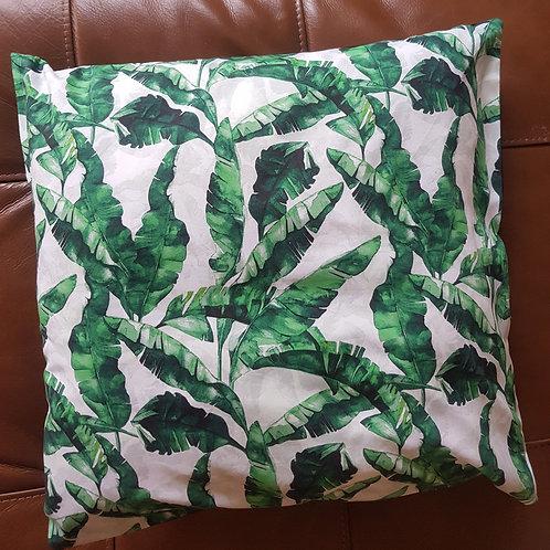 Palm print Cushion cover
