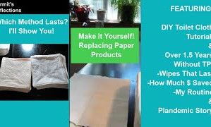 Bathroom Wipes (DIY Reusable Washable Toilet Wipes)