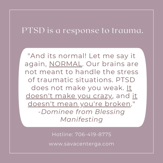 PTSD is a response to trauma..png