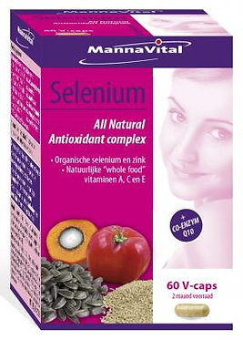 Selenium All Natural Antioxidant complex (60 V-caps)