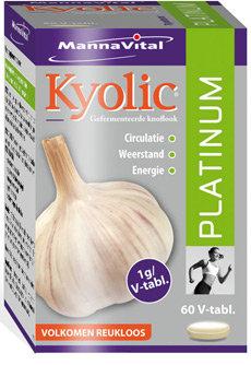 Kyolic Platinum 60 v-tabs