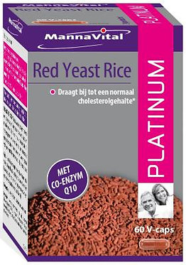 Red Yeast Rice Platinum (60 V-caps)