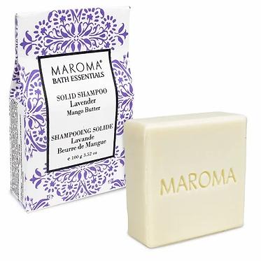 Maroma solid shampoo lavender