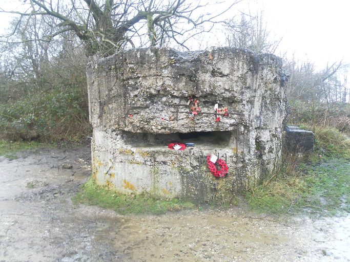 Hill 60 bunker near Ypres