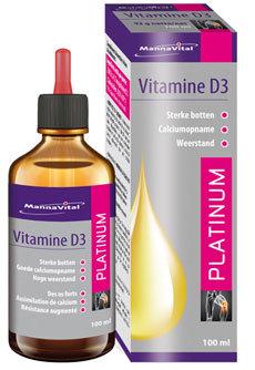 Vitamine D3 Platinum Druppels (100ml)