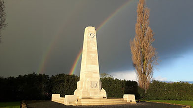 New Zealand Memorial Gravenstafel Ridge Passchendaele