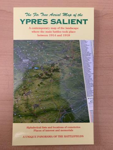 Ypres Salient Aerial Map