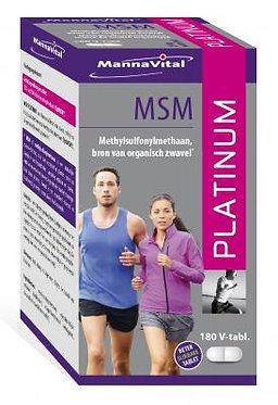 MSM Platinum (180 V-tabl)