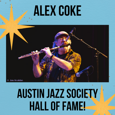 AFS Member Inducted into the Austin Jazz Society Hall of Fame!