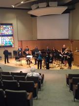Flute choir performance, 2015