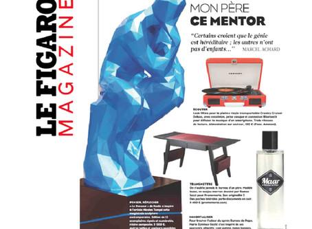 """""""Le Bureau de Papa"""" dans le Figaro Magazine."""
