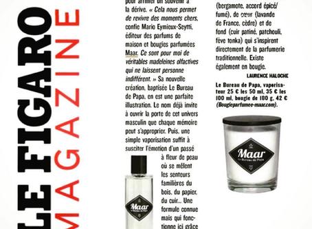 """""""Le Bureau de Papa"""" vu par Laurence Haloche dans le Figaro Magazine. Tout en finesse et en"""