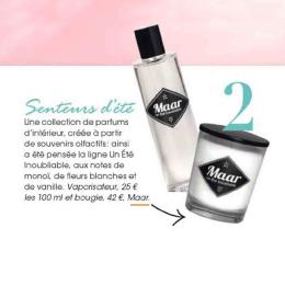 "Maar dans AsYouLike N°18 Mai rubrique ""Mon Life Style""."