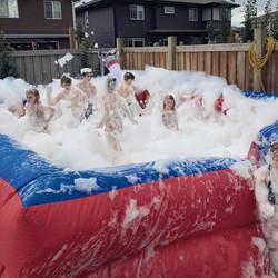 kids foam pit party