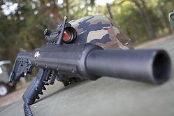 MP5 laser tag gun