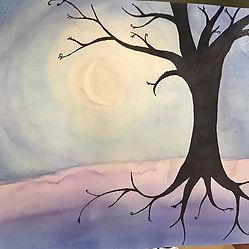 Beautiful watercolor tree of life interp