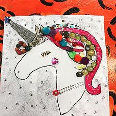 Unicorns at Enchanted Yoga & Art Camp to