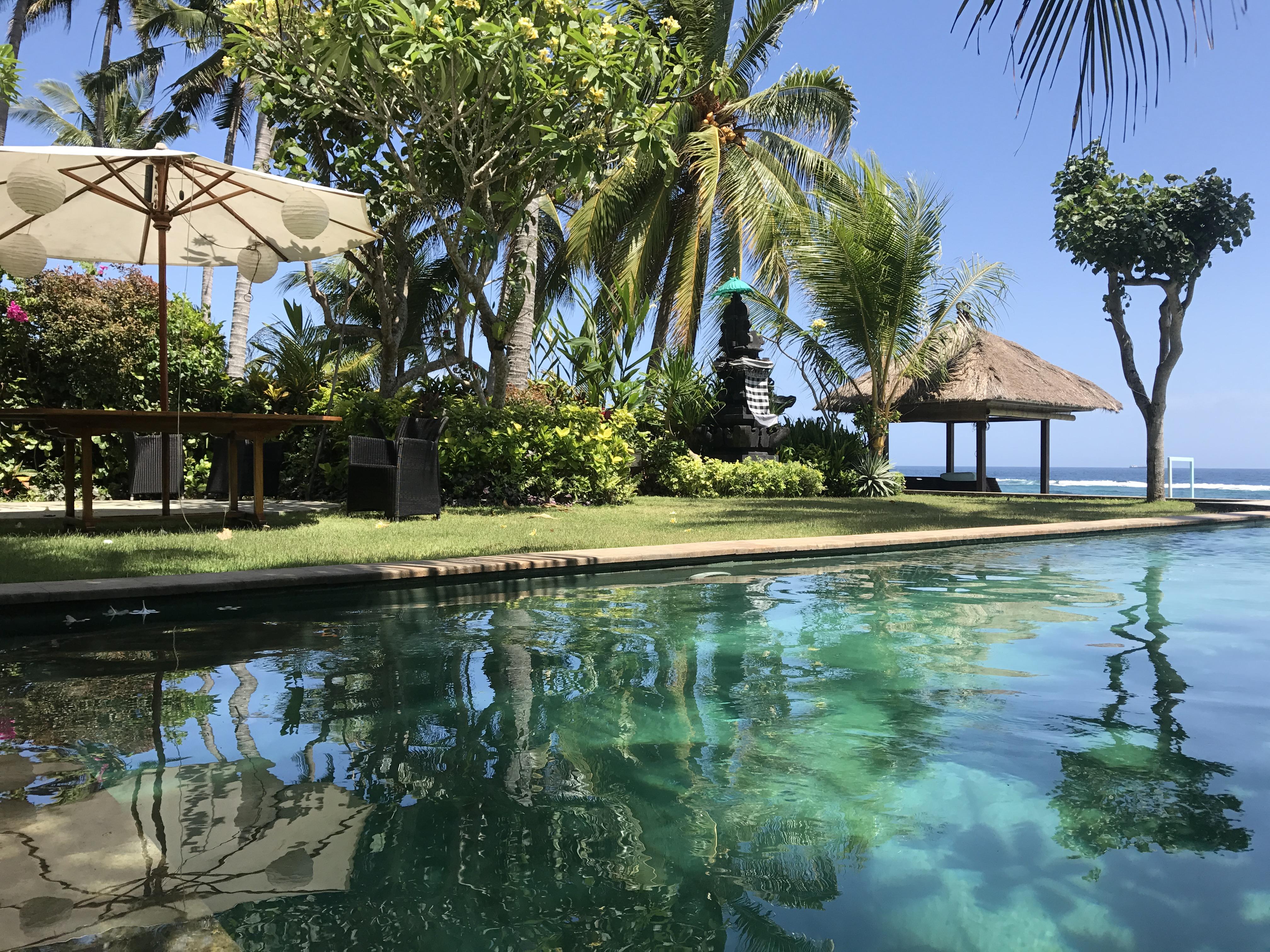 Villa Nilaya's 14 x 4 m pool